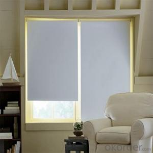 Ceiling Blinds with Faux Wood Blind for Window Shutter