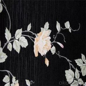 Pvc Vinyl Wallpaper Modern Design Wallcovering Paper Back Vinyl Wallpapers