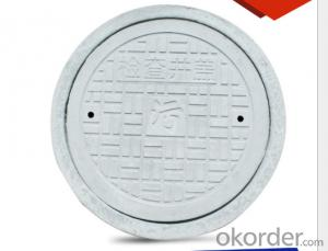 Light Duty Ductile Casting Iron Manhole Cover EN124
