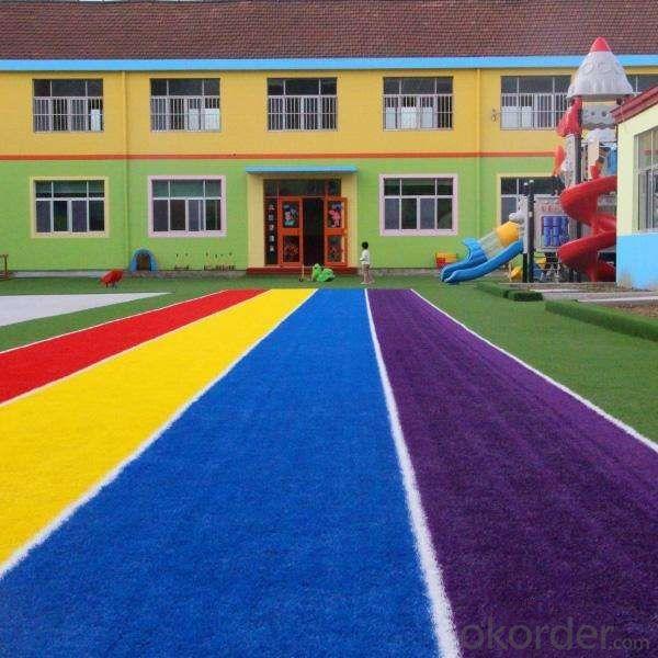 High and kindergarten/ Artificial  lawns