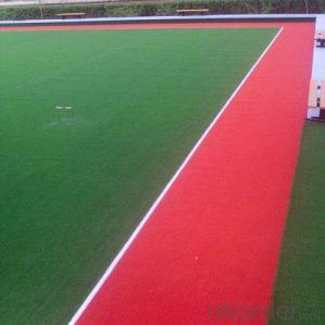 Artificial turn sports flooring green football with high quality