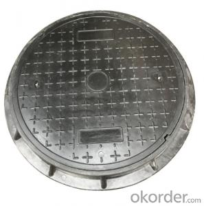 Ductile Iron Double Seal Manhole Cover & Frame