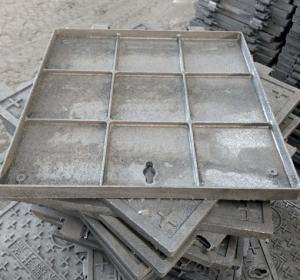 D400 Ductile Iron Manhole Cover and Frame
