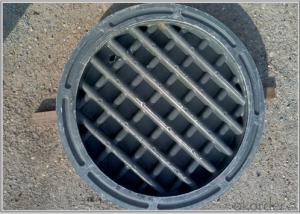 Dcutile Iron Concrete Manhole Covers for Sale in China EN124