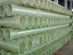 Glass Fiber Reinforced Polymer Pipe Low friction coefficient made in China of different styles