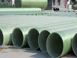 Convenient and quick installation with High Pressure GRE Pipe with noxic of different styles