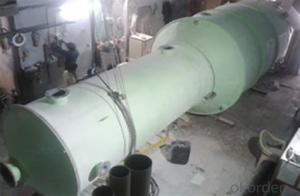FRP tanks and vessels Machine made in China with no toxic on sales
