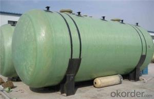 FRP  tanks  and  vessels High mechanical inertness of different styles for sales