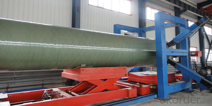 Buy Low friction coefficient with High Pressure GRE Pipe of