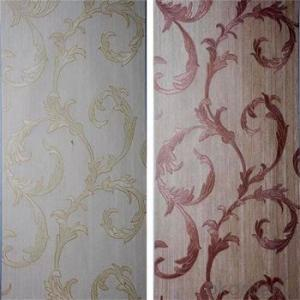 Ewest TOP Selling Korea Style WallPaper With Nice Vertical Line Wall Paper PVC Waterproof Material