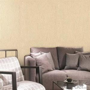 Woven Vinyl Waterproof Wallpaper Bedroom Decoration Wallpaper
