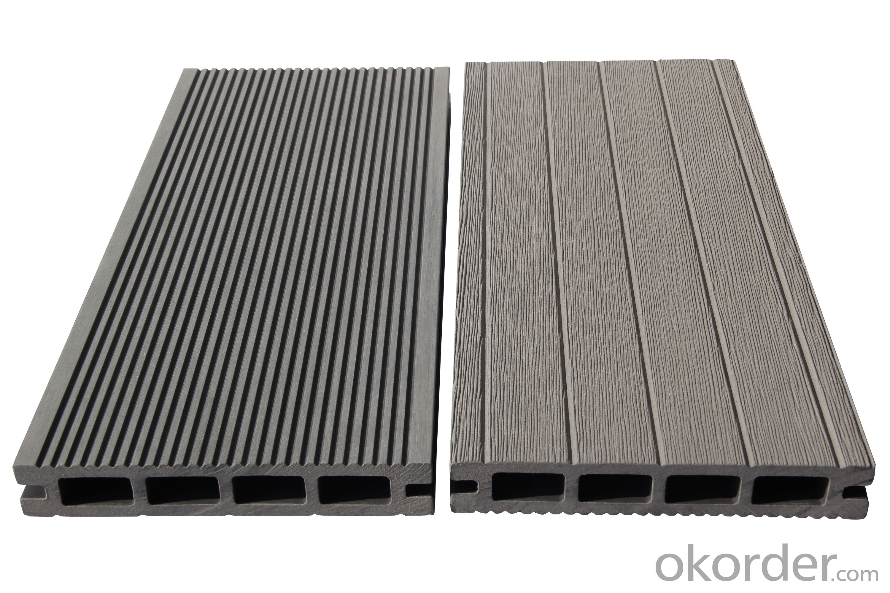 WPC outdoor wood plastic floor wood plastic composite