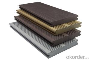 WPC outdoor wood plastic solid floor new environmentally friendly composite material