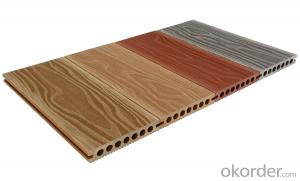 WPC outdoor wood plastic floor (hollow) roof / terrace outdoor decorative floor