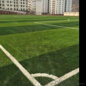 Nature looking four color artificial grass for yard
