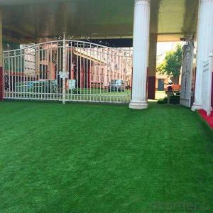 Outdoor playground landscape artificial grass