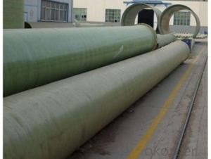 Glass Fiber Reinforced Polymer Pipe Non toxic of different styles made in China for sales