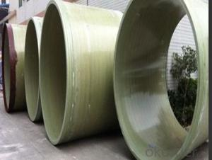 High Pressure GRE Pipe Maintenance free with toxic on sales