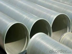 High Pressure GRE Pipe Long life span with toxic on sales