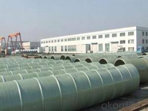 High mechanical property with High Pressure GRE Pipe with noxic made in China for sales