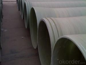 Low friction coefficient FRP pipe without consequent pollution of different styles