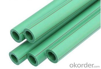 Plastic PPR Pipes for Hot and Cold Water Conveyance