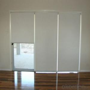 Acoustic Horizontal Clear Plastic Roller Blinds