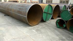 Straight seam pipe Duplex submerged arc welding straight seam steel pipe