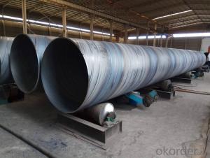 Spiral steel tube q235b spiral steel tube