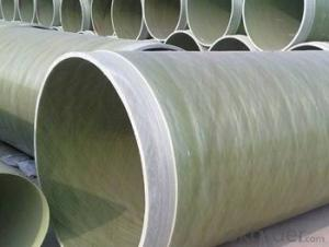 Glass Fiber Reinforced Polymer Pipe Light weight of different styles