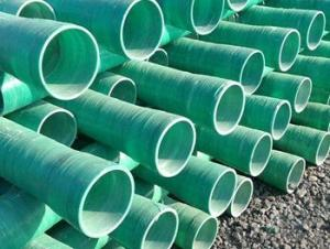 Glass Fiber Reinforced Polymer Pipe Convenient of different styles