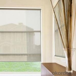 Outdoor Clear Plastic Valance  Roller Blinds