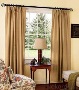 European Fabric Chandelier Roller Shades Blinds