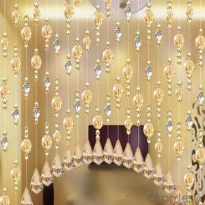 Decorative Beaded Horizontal Valance Curtains Blinds