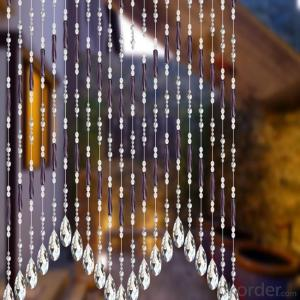 Beaded Decorative Vertical Window Blinds
