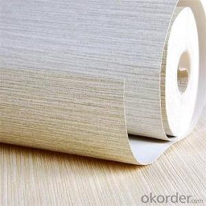 Wooden Design PE Foam 3D White Artificial Wallpaper