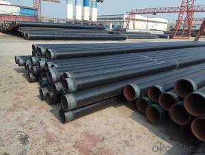 Gas pipeline 3pe anti-corrosion steel pipe