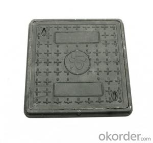 Casting Ductile Iron Manhole Covers B125 D400 for industry with Competitive Prices in China