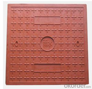 Casting Ductile Iron Manhole Covers D400 B125 with Frames
