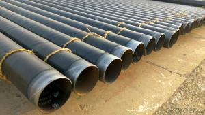 Q235b spiral tube 3pe anti-corrosion steel tube