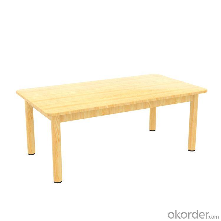 table for Preschool Children Pinus sylvestris Wooden Furniture
