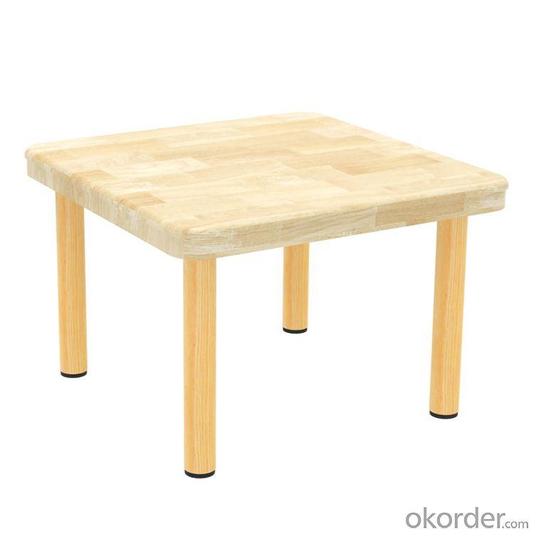 table for Preschool Children Rubber Wood Furniture
