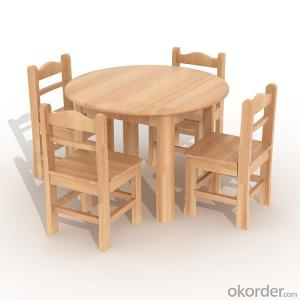 round table for Preschool Children Beech Wood Furniture