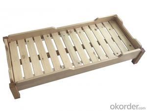 bed for Preschool Children Beech Wood Furniture