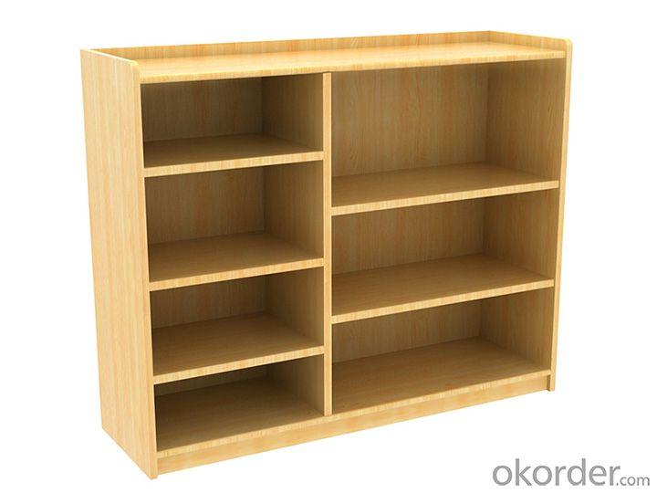 three layer table for Preschool Children Pinus sylvestris Wood Furniture