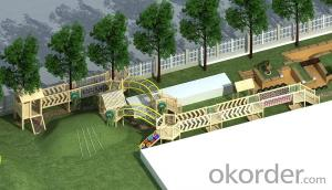 Wooden Playground for Preschool Backyard Outdoor Adventure