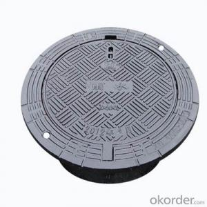 Ductile Iron Manhole Cover with Kinds of Styles for Industry