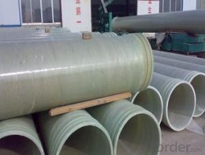 Non toxic with High Pressure GRE Pipe of different styles