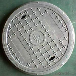 OEM Ductile Iron Manhole Covers for Construction with Frames