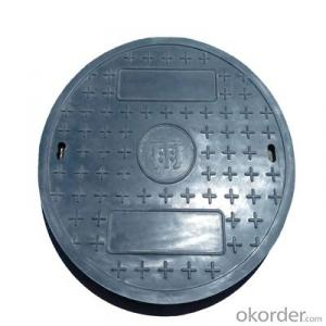 Casting Iron Manhole Cover with Different Designs and Colors